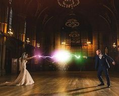 Tasteful Harry Potter themed weddings Theyre a thing 27 Things You Need To Have A Classy AF Harry Potter Wedding Star Wars Wedding, Geek Wedding, Wedding Themes, Wedding Pictures, Themed Weddings, Wedding Ideas, Trendy Wedding, Wedding Favors, Wedding Dresses