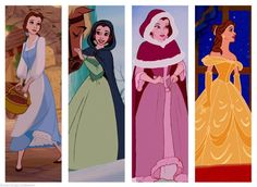 Belle is an inspiration to us all: demeanor, sense of adventure, and fashion!!!!
