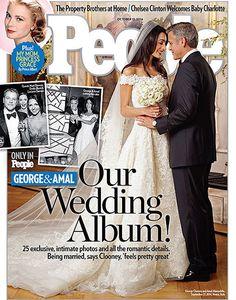 Pin for Later: Ihr könnt nun in Mrs Clooney's Kleid heiraten Amal Alamuddin's Oscar de la Renta Hochzeitskleid