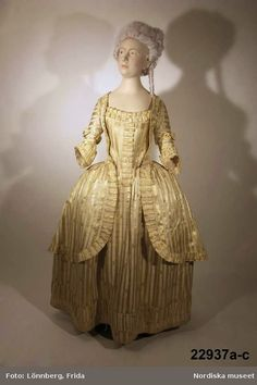 Isis' Wardrobe: The Swedish national gown in the 18th century