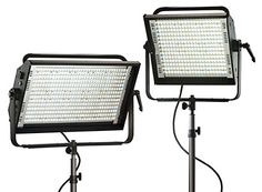 Lowel Prime LED fixtures are very close to duplicating pure daylight!