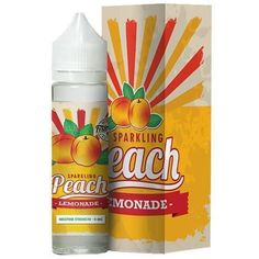 Sparkling Peach Lemonade - Frsh Sqzd E Liquid #vape #vaping #eliquid