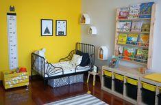 Ikea Baby Room, Nursery Room, Bedroom, Green House Design, Tiny House Design, Living Etc, Living Spaces, Loft House, 2nd Floor