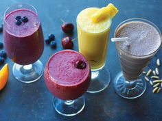 post run smoothies - The Crunchy Coffee smoothie was super good!