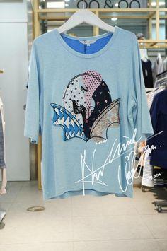 折上折~韩国专柜代购安乃安ON&ON 15夏个性T恤NW5ME303-淘宝网全球站