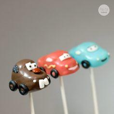 Cake Pops Cars - Mater! Cake Pops, Cars, Comic, Diy, Bricolage, Cakepops, Vehicles, Comic Book, Autos