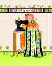 Quilting is my Passion Microfiber Cleaning Cloth