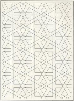 Les Elements de l'art Arabe / Pattern in Islamic Art - Joules Bourgoin, 1879 Geometric Patterns, Graphic Patterns, Geometric Designs, Geometric Art, Textures Patterns, Print Patterns, Islamic Motifs, Islamic Art Pattern, Arabic Pattern