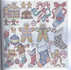 Free Christmas cross stitch