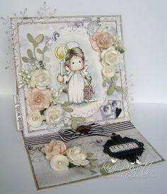 Magnolia CARTOES POR Kim Piggott