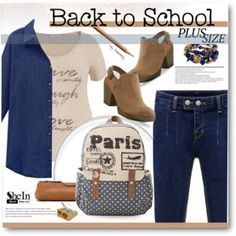 The First Day of School - plus size