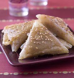 Briouates aux amandes et au miel - les meilleures recettes de cuisine d'Ôdélices