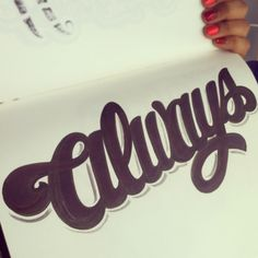 I love scripts, always #lettering #letteringdaily #handdrawn #handlettering #scripts #type #typography #sharpie
