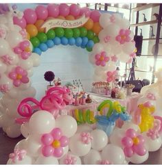 My little pony balloon decor