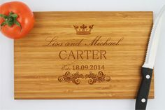 Hey, I found this really awesome Etsy listing at https://www.etsy.com/listing/199848026/personalized-cutting-board-custom