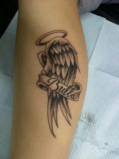 My tattoo i got for my big brother. He passed away in 07 from cancer. I love you bubba R.I.P Dustin Wayne.
