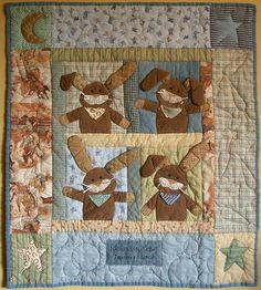 Mister Peanut Quilt by PatchworkPottery, via Flickr