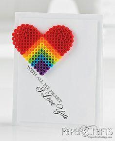 With All My Heart Card by @Jaclyn Miller & Elizabeth Miller