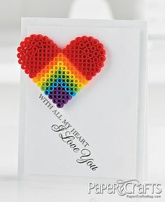 With All My Heart Card by @Jaclyn Miller & Elizabeth Miller