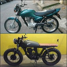 by @buds_motorcycles Before & After #beforeandafter…
