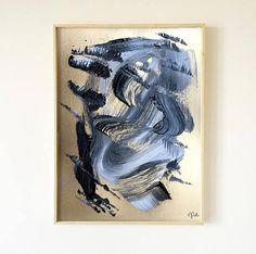Original acrylic painting on heavy paper Peinture véritable