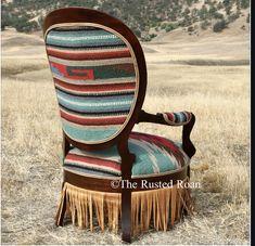 Cowhide Furniture, Log Cabin Furniture, Rustic Wood Furniture, Reupholster Furniture, Western Furniture, Hand Painted Furniture, Unique Furniture, Furniture Design, Western Rooms