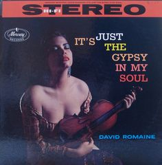It's Just The Gypsy In My Soul — David Romaine #vintage #vinyl #records- Mercury record album