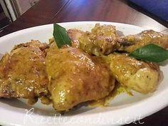 Pollo alla senape e curry di Angela Vic