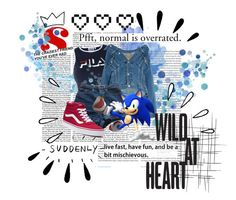 """""""Sonic The Hedgehog // Everyday"""" by follow-your-dreams-till-the-end ❤ liked on Polyvore featuring art, videogames and sonicthehedgehog"""