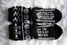 Crochet Socks, Knitting Socks, Knit Crochet, Wool Socks, Mittens, Knitting Patterns, Star Wars, Stars, Crocheting
