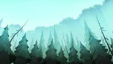 Gravity Falls Background   Illustrator: TBD