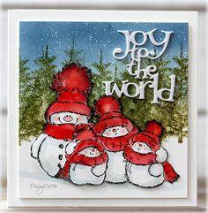 Snowy and his family (Rapport från ett skrivbord)