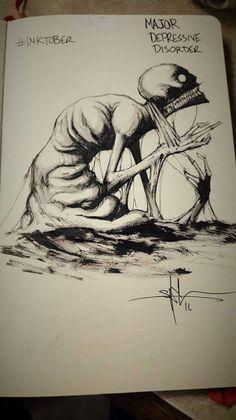 Inktober Art Raises Mental Health Awareness | Warped Speed - Part 4