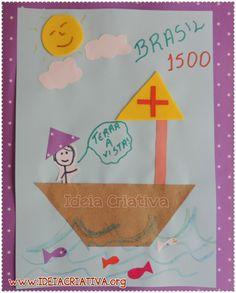 Sugestão de Aula Descobrimento do Brasil para Educação Infantil Pedro Alvares Cabral na Caravela