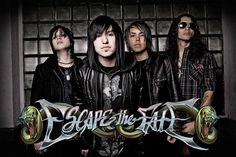 Escape the Fate    That moment when you have to include your new obsession on every social networking site you use.