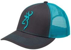 Browning 308177551 Flashback Cap, Charcoal/Neon Blue Snap back closure Comfortable, good looking and will last you a long time One size fits most Country Hats, Cute N Country, Country Girls, Cowgirl Hats, Western Hats, Western Wear, Country Style Outfits, Western Outfits, Cowgirl Outfits
