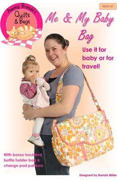 Me & My Baby Diaper Bag Pattern by GabbysQuiltsNSupply on Etsy, $13.99