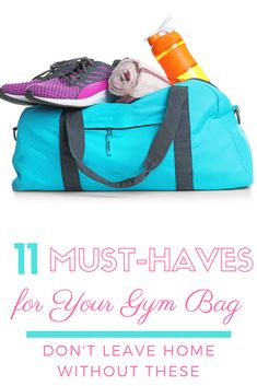 Going to the gym? Don't leave home without these 11 gym bag essentials for women! Including - available at Healthy Pregnancy Tips, Gym Bag Essentials, Total Gym, Run Disney, Disney Tips, Gym Tips, Running Tips, Running Humor, Thing 1