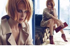 Nicole Kidman pour jimmy Choo ... and I LOVE her hair!
