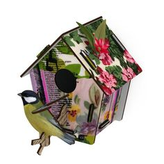 Mother's Day Gift Guide: Fresh Spot Small Birdhouse.  https://www.thehuntingtonstore.org/collections/mothers-day/products/fresh-spot-small-birdhouse