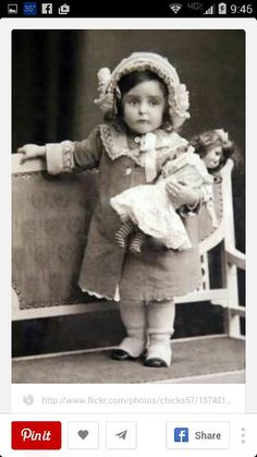 49 Trendy ideas for baby girl vintage photography antique photos Vintage Abbildungen, Vintage Girls, Vintage Beauty, Vintage Postcards, Vintage Dresses, Vintage Children Photos, Vintage Pictures, Vintage Images, Antique Photos