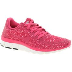 Nike Free Running 5.0 V4 Pink Trainers - Polyvore
