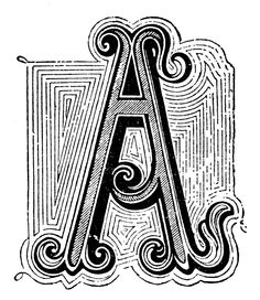 Typography - Letter A