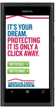 American Family Insurance Mobile Web