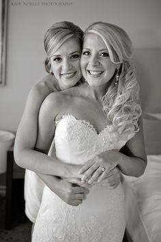 best friends, sister, with each of my bridesmaids, I want a pic!