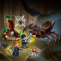 Eine tolle Idee: LEGO Harry Potter und die Kammer des Schreckens – Aragogs Versteck (75950) Bauset (157 Teile). Klicke auf das Bild um mehr zu erfahren! #geschenkidee #geschenk #gift #idea #harry #potter #harrypotter #books #slytherin #gryffindor #hufflepuff #ravenclaw Lego Harry Potter, Harry Potter Torte, Ron Weasley, Legos, Ravenclaw, Covo, Gift, Products, Wands