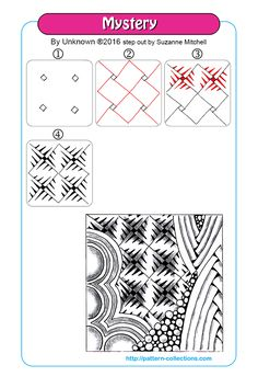 Small, equally spaced dots will give you guidance when drawing patterns, because they are part of the pattern and will easily disappear into the design. Instead of dots the circle grid is based on …