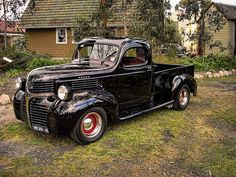 I'm a Chevy girl myself, But this 1946 Dodge Truck is adorable!! <3