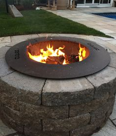 Say hello to good times and good-bye to smoke with our new smokeless fire pit! The smokeless patent-pending technology re-burns smoke before it reaches you. Wood Fire Pit, Wood Burning Fire Pit, Diy Fire Pit, Fire Pit Landscaping, Landscaping With Rocks, Landscaping Ideas, Garden Fire Pit, Fire Pit Backyard, Backyard Fireplace