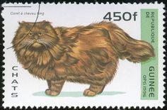 Republic of Guinea 1996 Cat Stamps